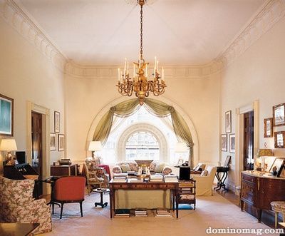 white house, curtains in round window | White house interior ... on designer modern curtain design, white house windows design, white house paint design,