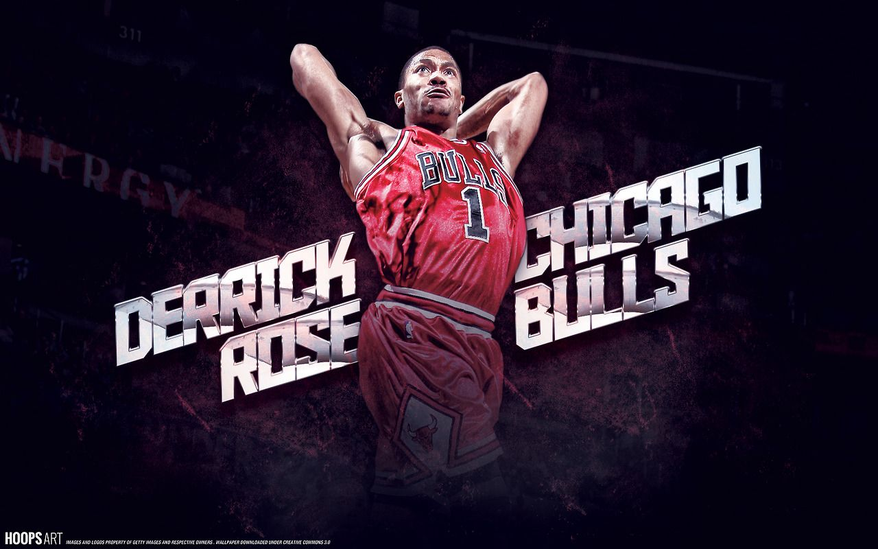 Chicago bulls derrick rose nba wallpaper from hoopsart - Derrick rose cool wallpaper ...