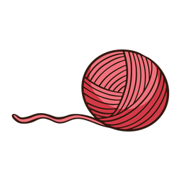 Wool Yarn Ball Cartoon Yarn Ball Yarn Wool Yarn