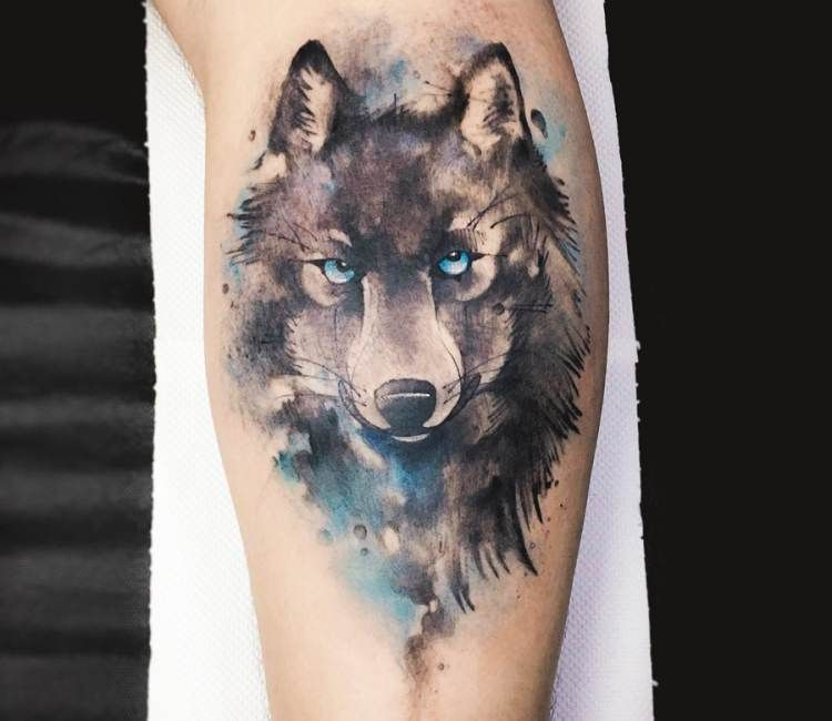 Wolf Tattoo By Dener Silva Post 18773 Wolf Tattoos Tattoos Wolf Tattoo