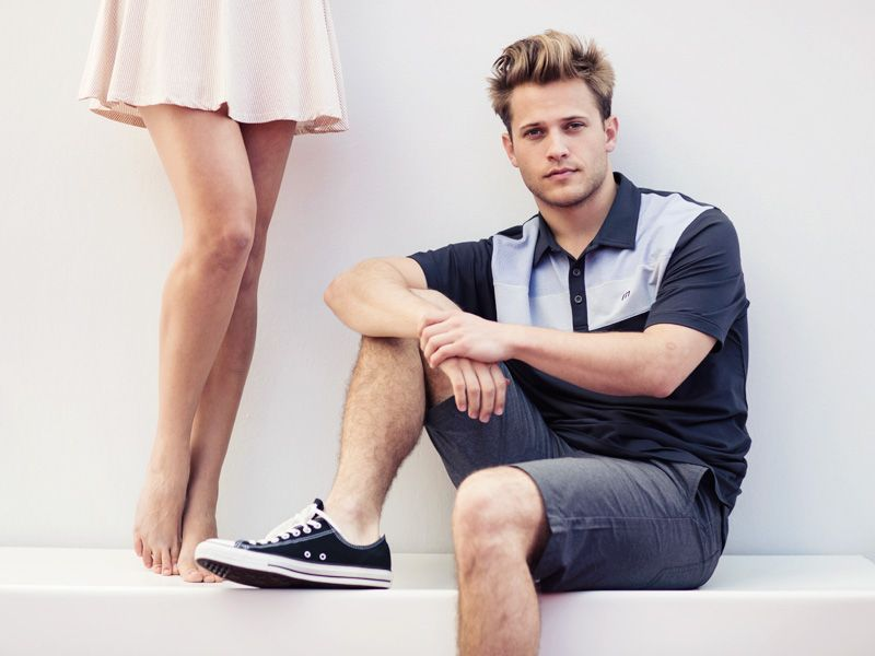 b2ad6bafe There is a message here but it s subtle Men s Golf Fashion ...