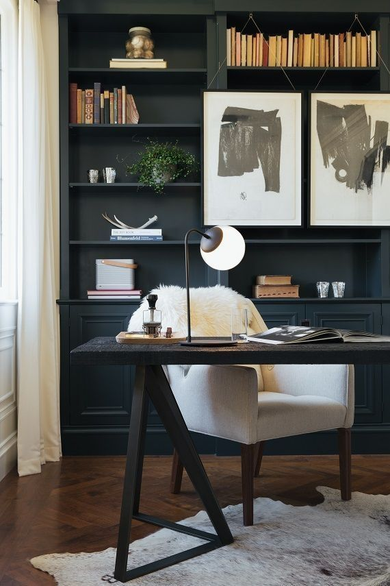 23 Elegant Masculine Home Office Design Ideas: Masculine Home Offices, Home Office Design, Home