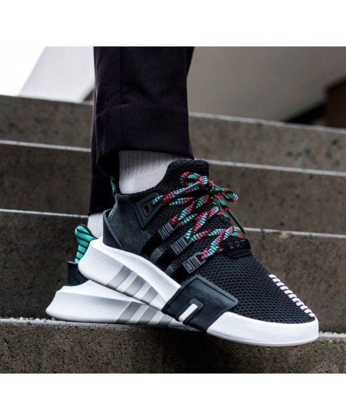 new styles be208 985f6 Adidas Equipment ADV Black Green White Red Fashion Trainers ...