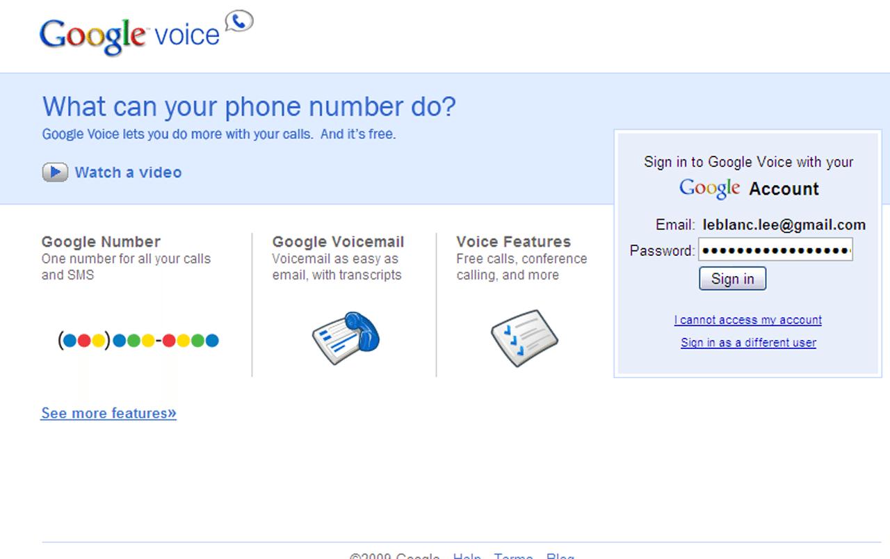 Google Voice By Google Workspace