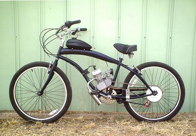 Motorized Bicycle How To Get One Bicyclette Motorisee