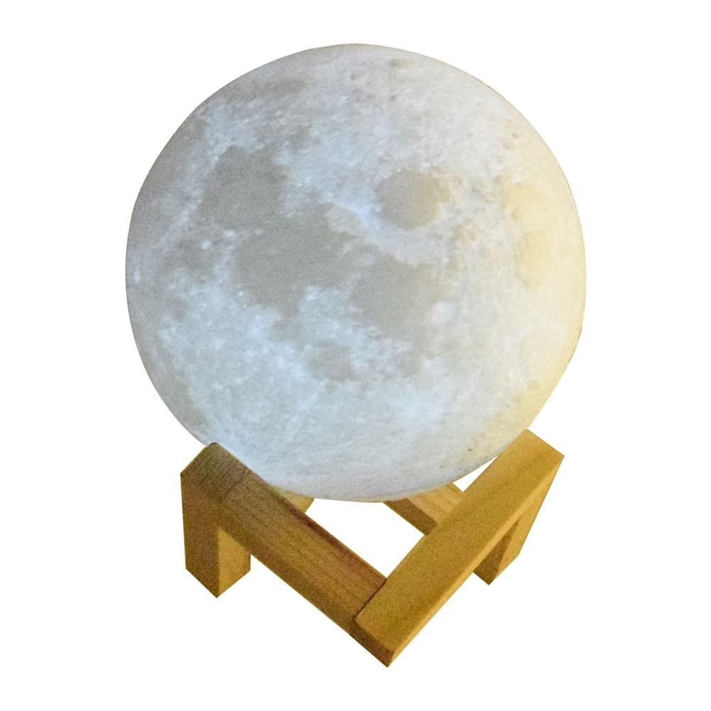 Luna La Lampe Lune Mystique Bouddha Zen Night Light Modern Lamp Led Night Light