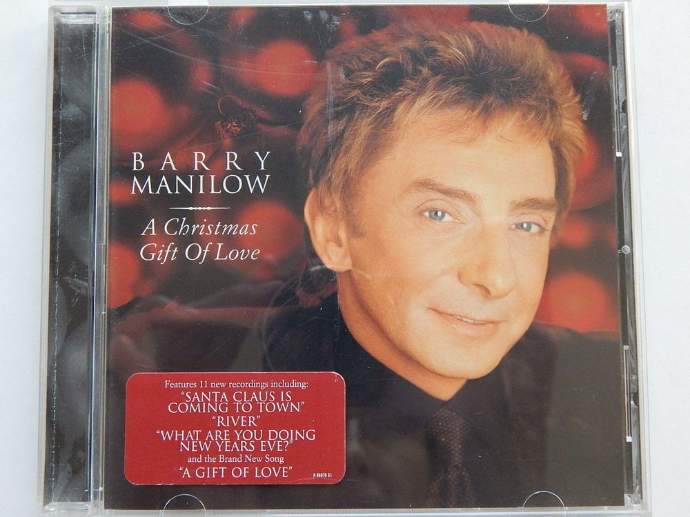 Barry Manilow A Christmas Gift Of Love CD Music Winter Wonderland ...