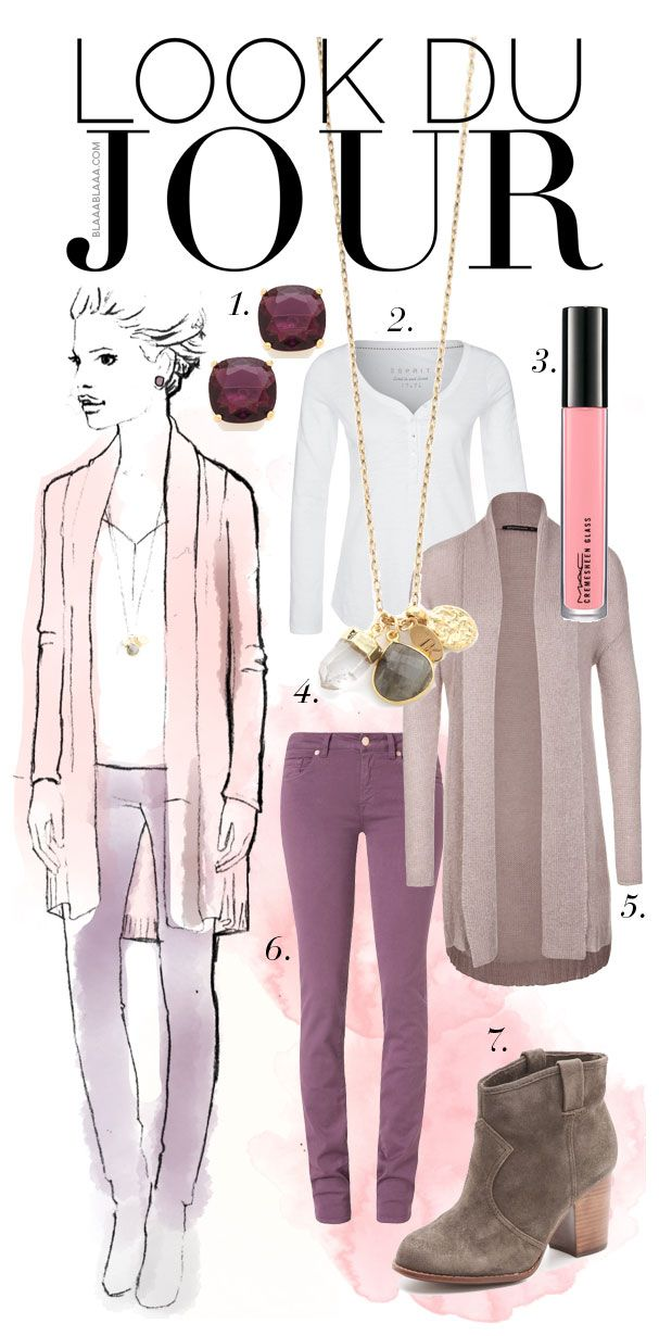 Look Du Jour – Radiant-Orchid-Feelings