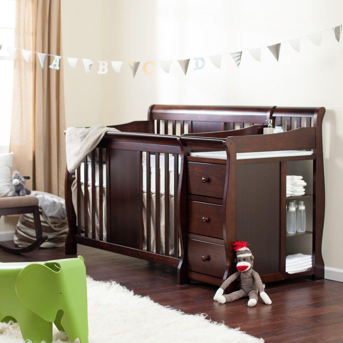 Hayneedle Exclusive - Storkcraft Calabria Crib N Changer - Nursery ...