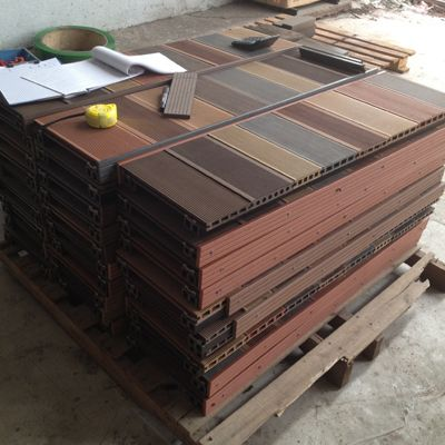 Wpc Decking Samples  Wood Plastic Composite Decking