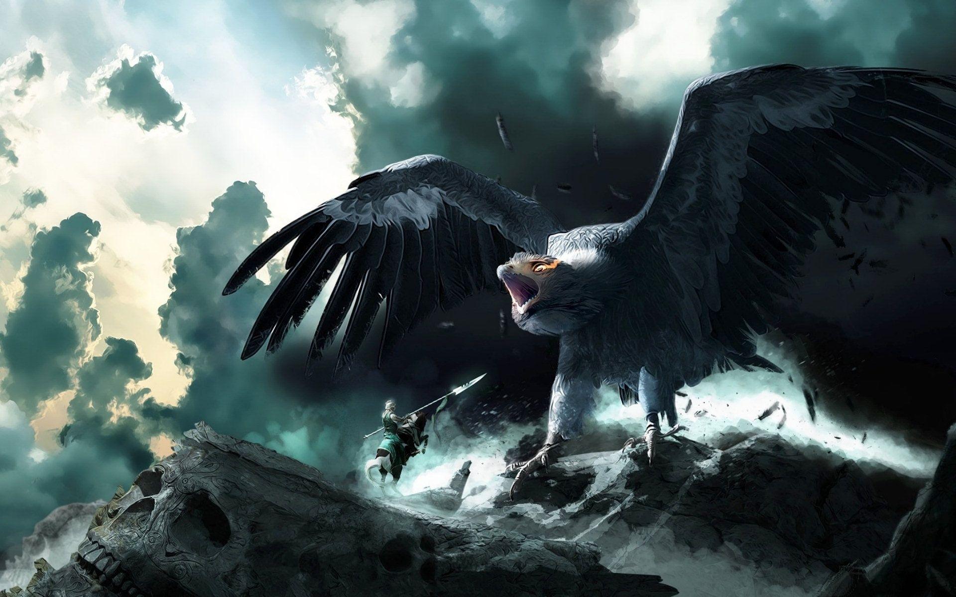Fantasy Giant Bird Hawk Eagle Fantasy Hd Wallpaper 1920 1200 Followme Cooliphone6case On Twitter Facebook Go Fantasy Concept Art Hd Wallpaper Fantasy Fantasy giants wallpapers fantasy