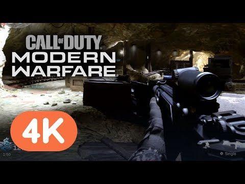Call Of Duty Modern Warfare Official 4k Multiplayer Gameplay