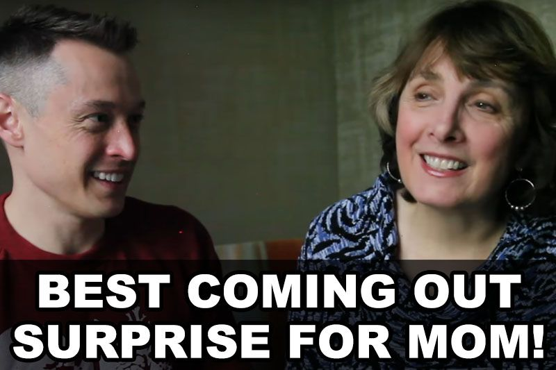 Best Coming Out Surprise For Mom! | Our Queer Stories | LGBTQ Coming Out Stories and More
