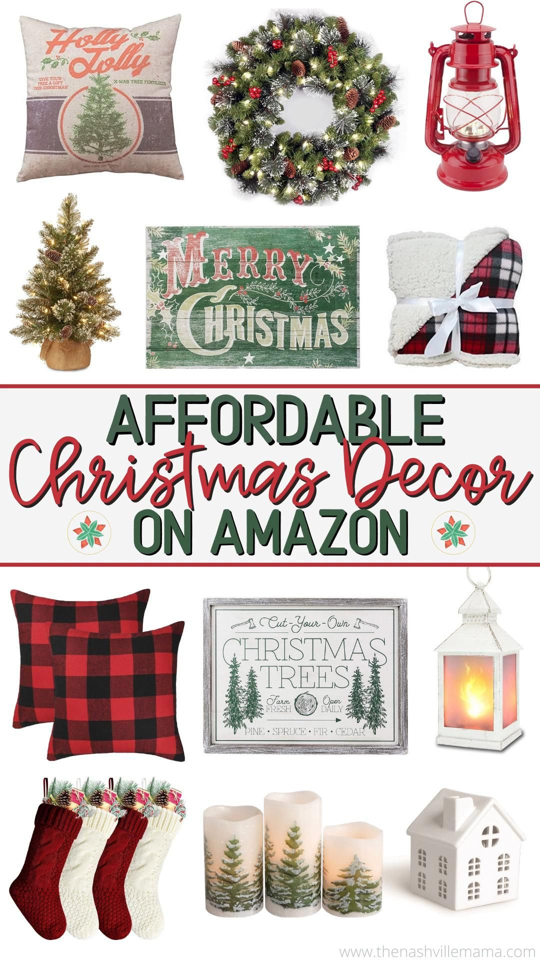 Photo of The Best Affordable Home Christmas Decor