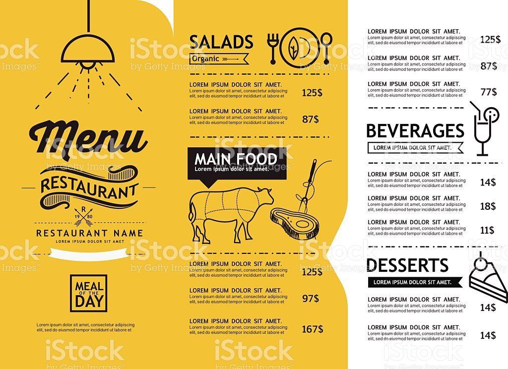 restaurant menu designs templates