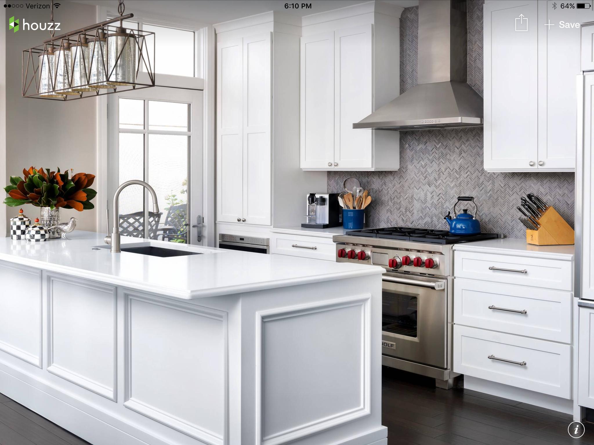 Cucina image by Gemma Bean Designs White kitchen design
