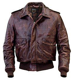 Leather bomber jacket. Yes.
