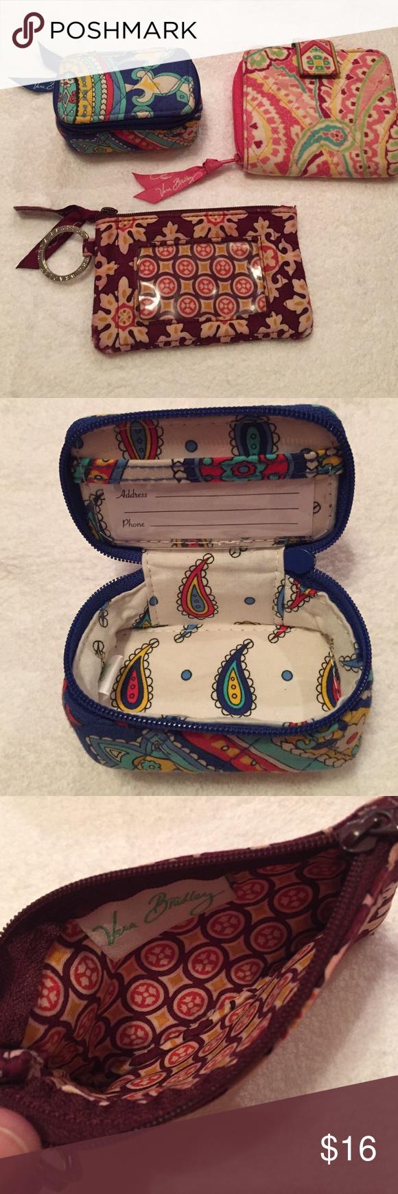 Bundle Vera Bradley Waller smal bags and Vera Bradley Bags Wallets