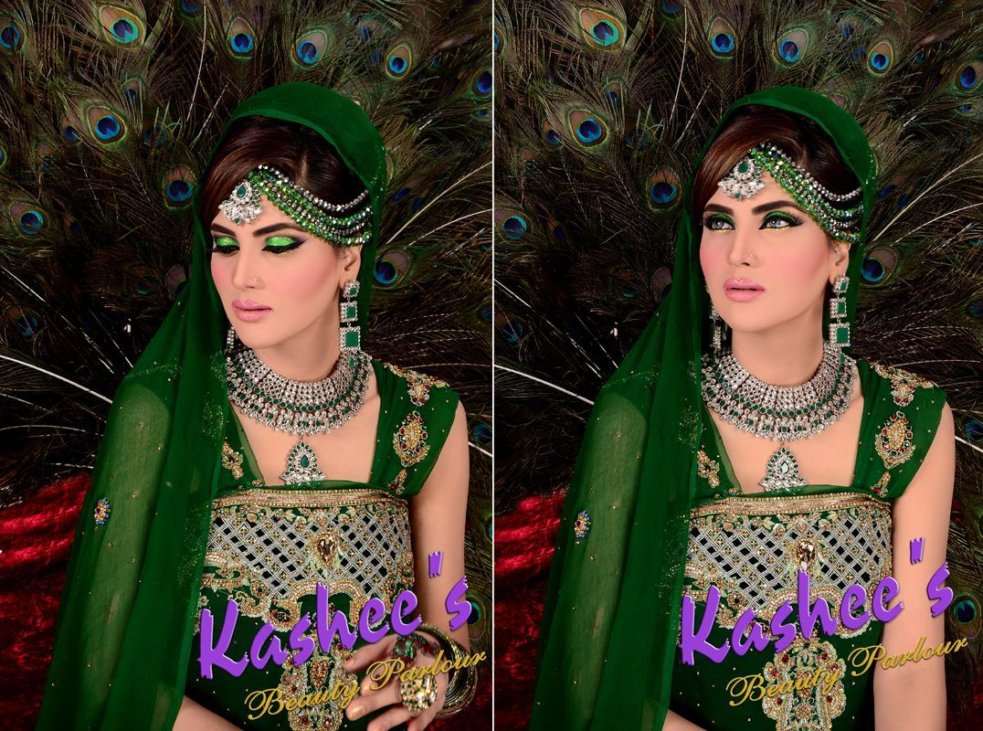 Kashee S Mehndi Makeup : Beautiful makeup by kashee s beauty parlour mehndi bridal