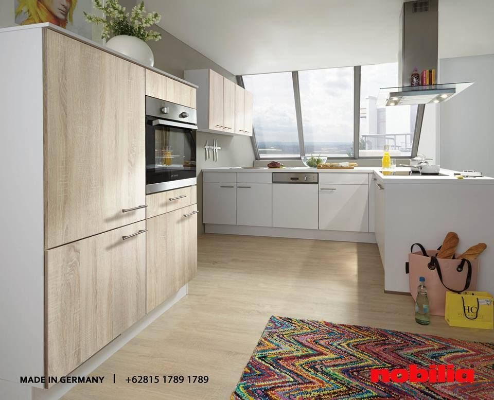 Nobilia Kitchen Colours from nature and natural-look wood - nobilia küchen farben