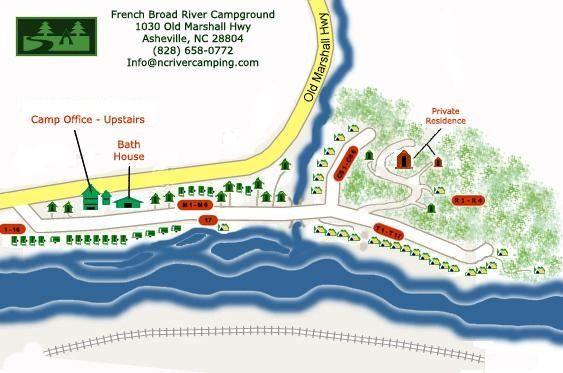 French Broad River Camping - Tents & RV Sites | Travel: North ...