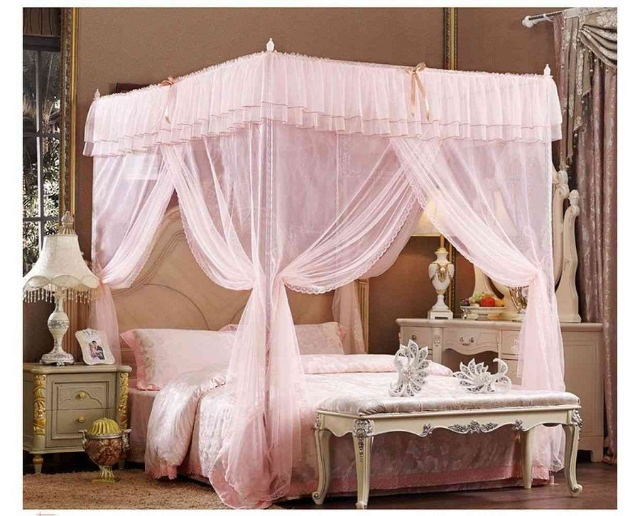 Awesome Four Poster Bed Canopy U2013 Four Poster Beds Create A Welcoming And Cozy  Atmosphere In Bedroom. What A Dramatic And Daring Design, You Can Use Rich  Fabrics In ...