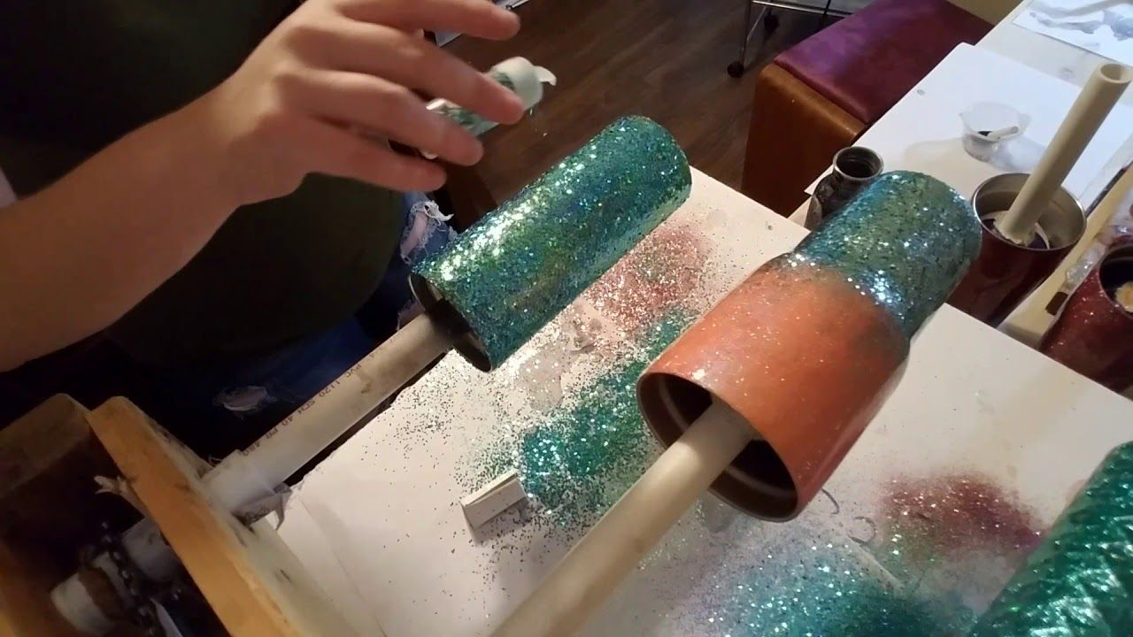 Chunky glitter on epoxy | Pixie's Dust | Glitter projects