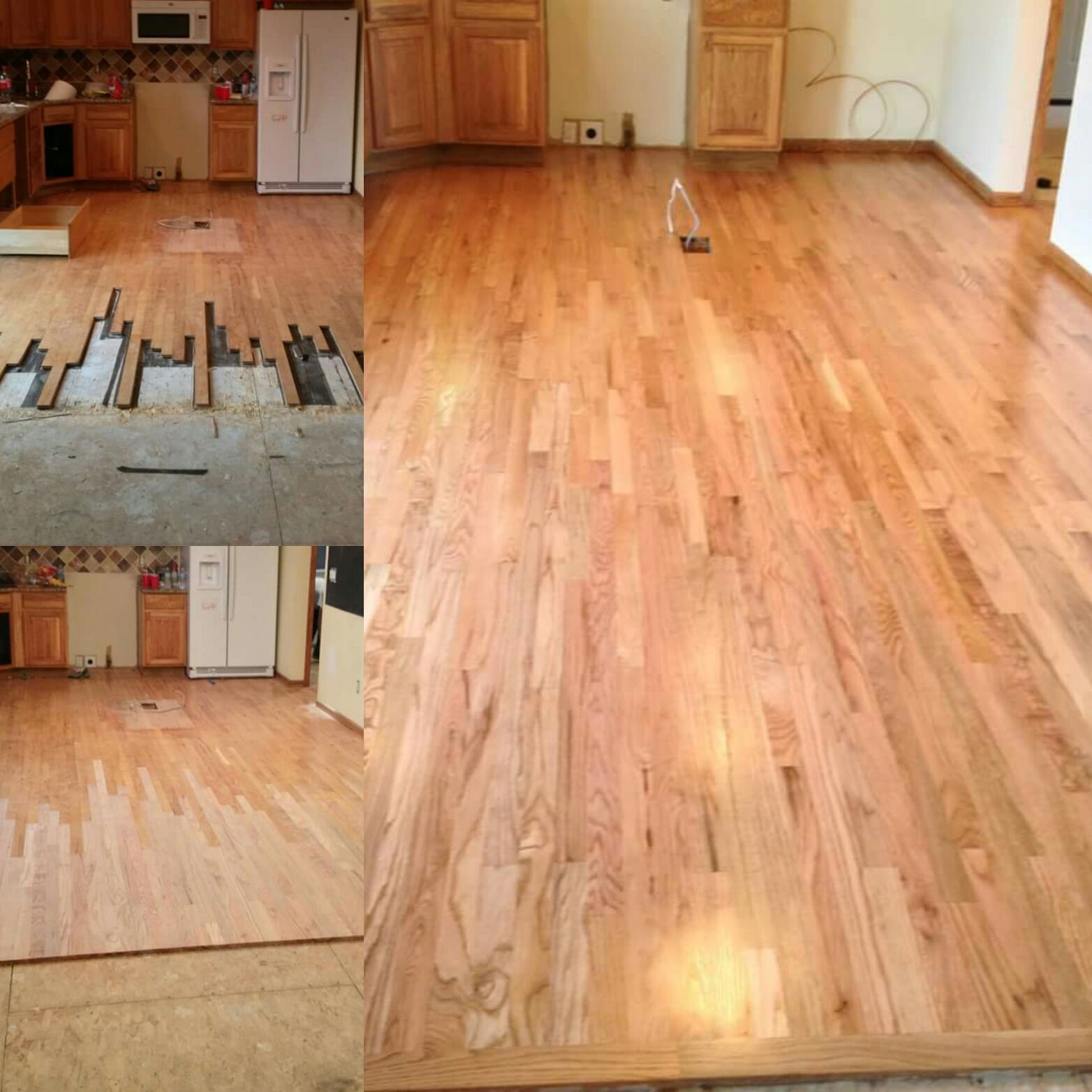 Want To Add To Your Hardwood Floors Mr Sandless Can Add To Or Install Brand New Floors For You We Are Quick Done In A Hardwood Floors Flooring Installation