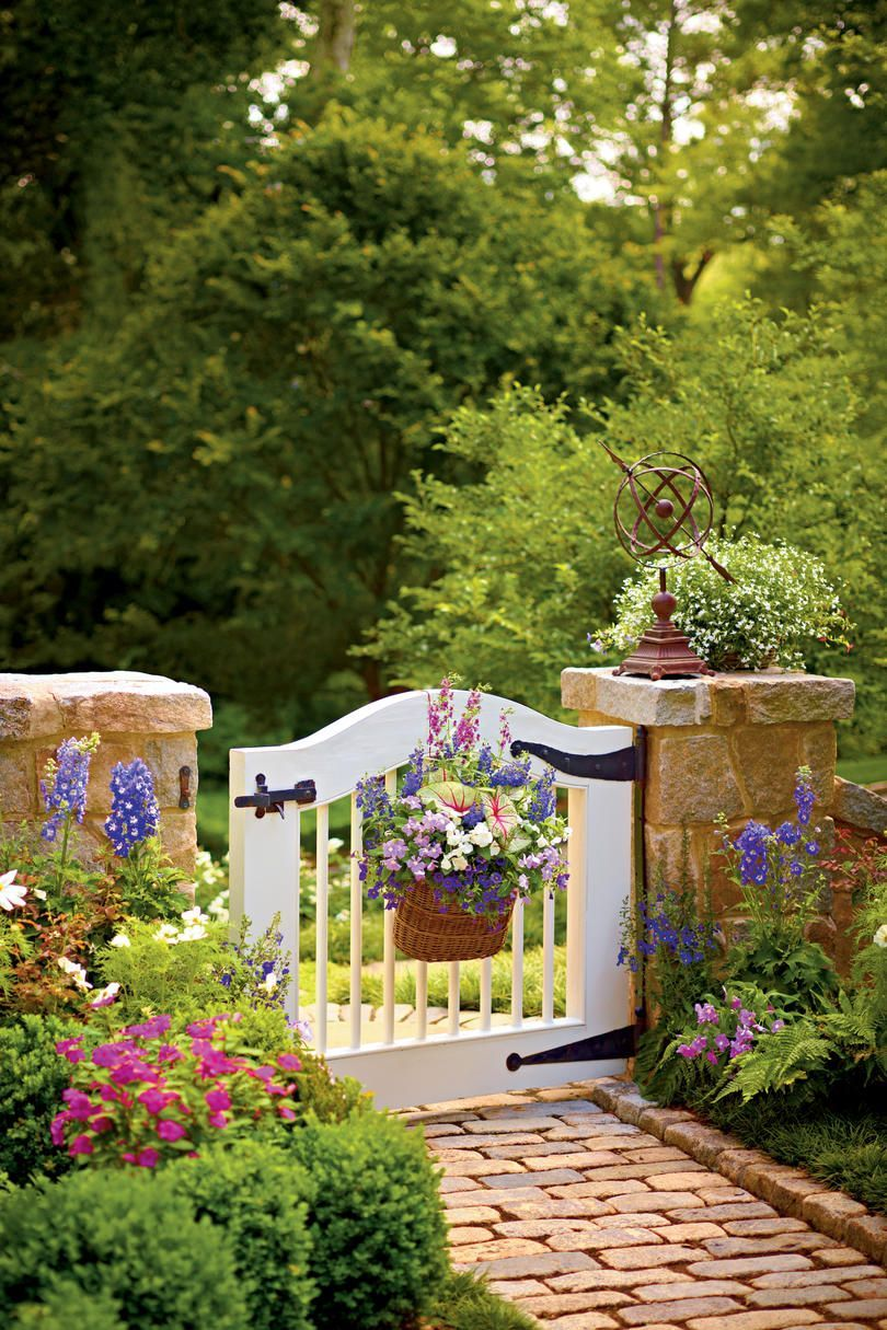 Choose the perfect garden gate in front gate pinterest