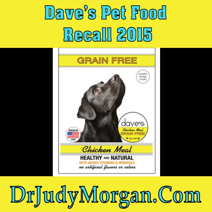 Dave's Pet Food Recall 2015 Food recalls, Food animals