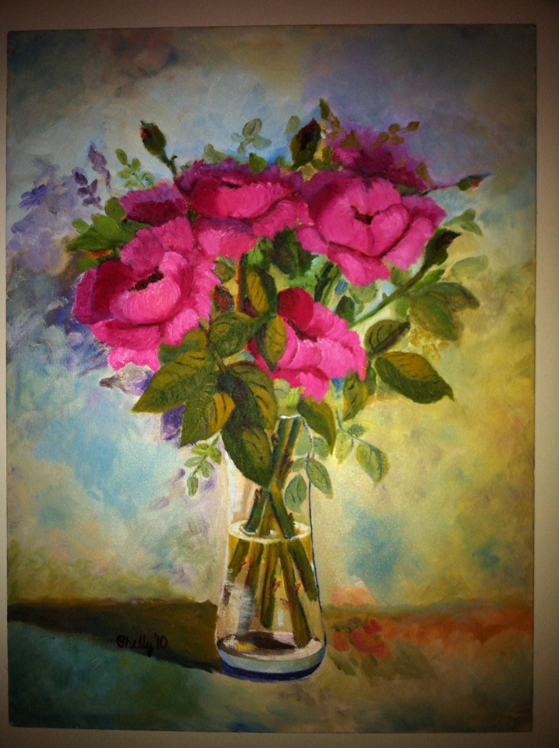 Famous Flower Paintings By Hasnain Syedah Reader S Your Favorite 2010 Painting