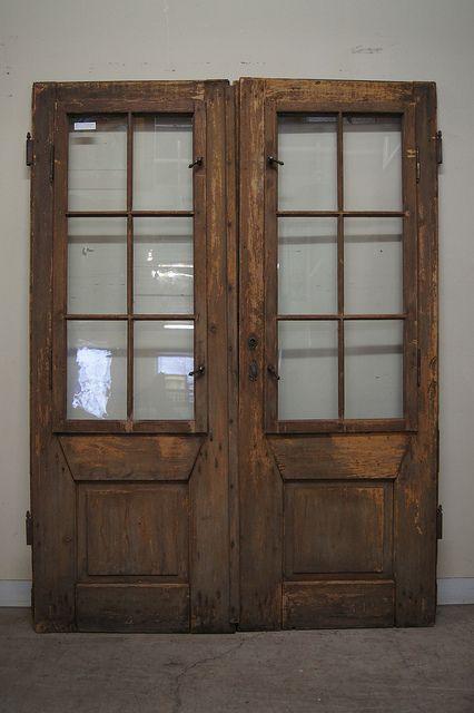Antique Romanian Doors 6784 By The Door Store Via Flickr Shutter Doors Dining Room Inspiration Store Door