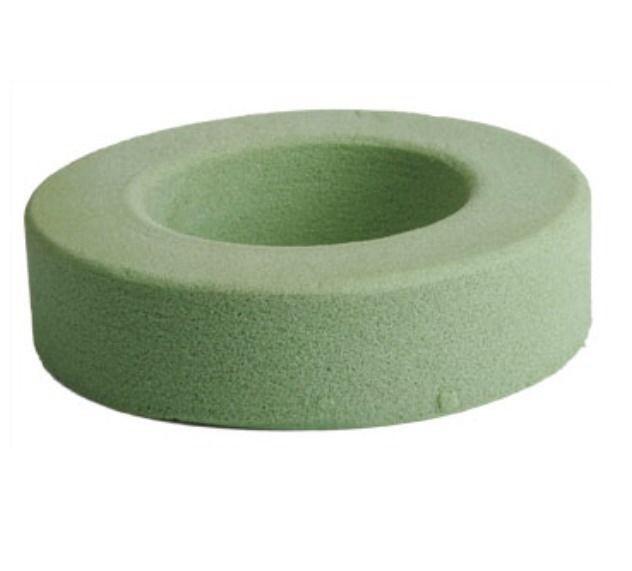Now On Sale Green Foam Floral Ring 7 7 8 X 1 15 16 200mmx49mm Styrofoam Wreath Wedding Ebay Small Wreaths Floral
