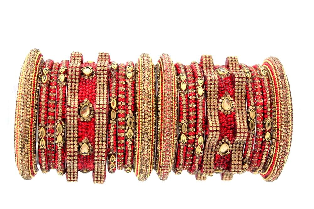 Indian gold plated Traditional bangles  size 2.6 Chudi// Bangles uk seller