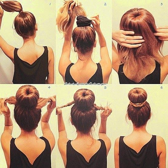 Sac Modelleri Ve Yapimi Hair Styles Kolay Sac Modelleri Sac