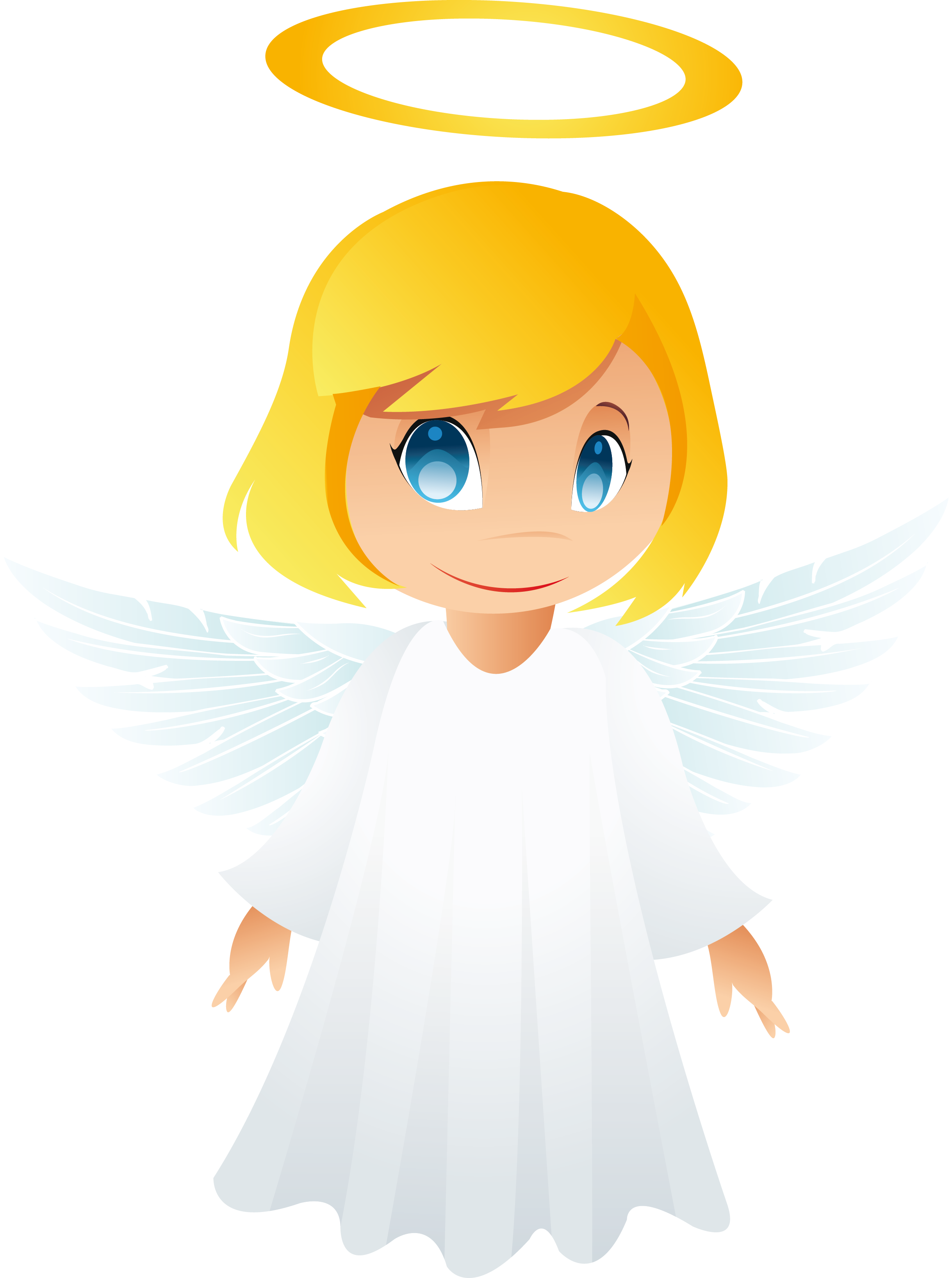 angel clipart free graphics of cherubs and angels the cliparts [ 2438 x 3272 Pixel ]