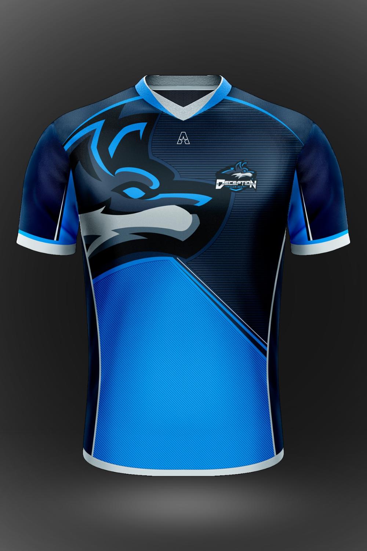 Download Gaming Jersey Google Penelusuran Shirt Template Sport T Shirt Sleeves Clothing