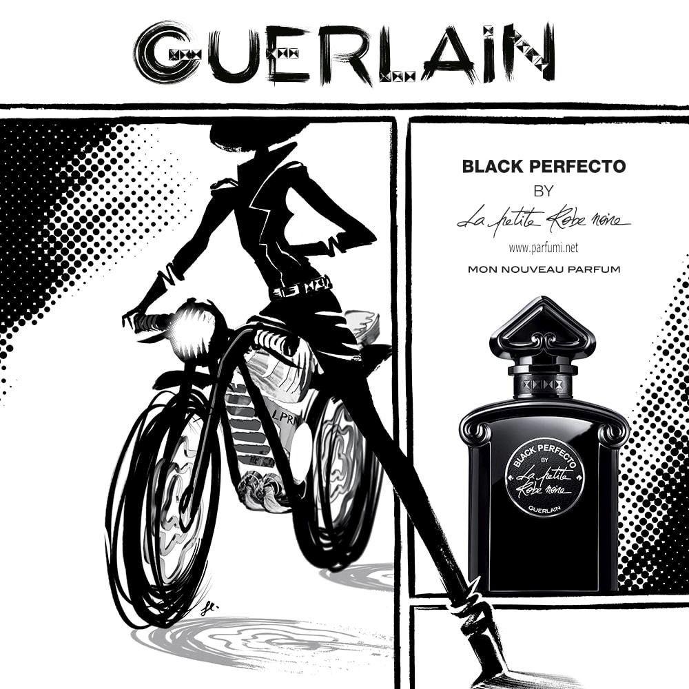 04c707dada7 Guerlain La Petite Robe Noire Black Perfecto Eau de Toilette Florale е  деликатен флорален плодов аромат