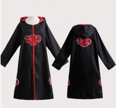 Photo of Akatsuki Cosplay Cloak Yondaime Hokage Namikaze Minato Uniform Cloak Kakashi Teacher Six Yondaime Costume Outfit for Men – Cloak with hat / XXL