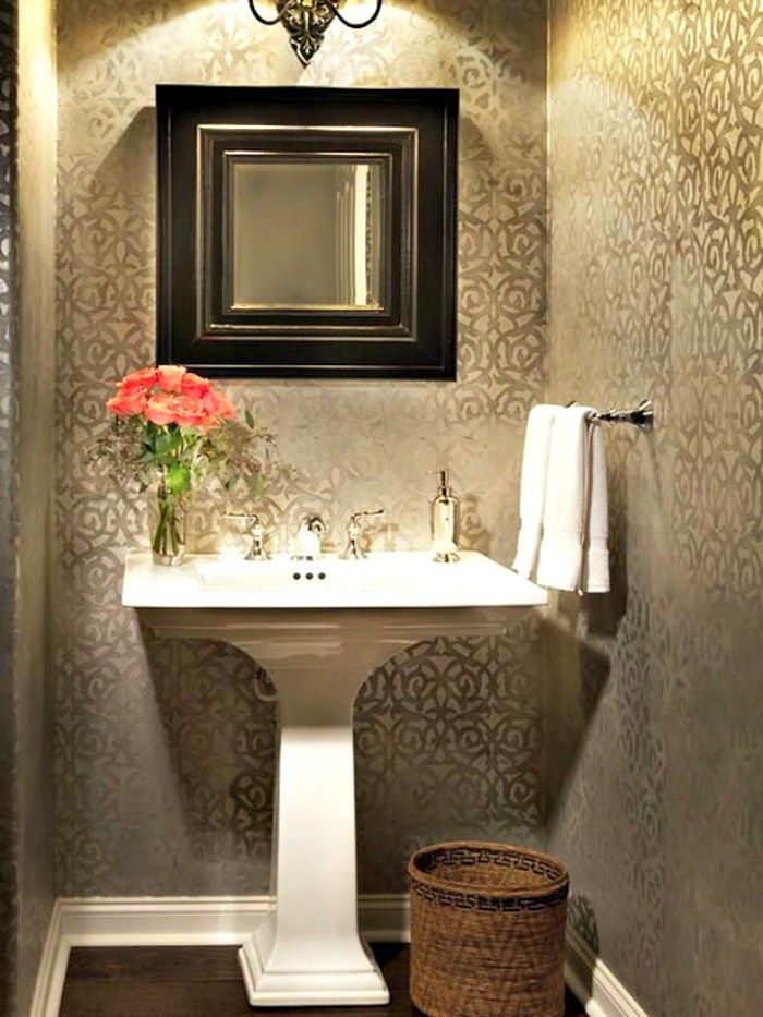 The Most Beautiful Powder Rooms Ever Powder Rooms Powder Room