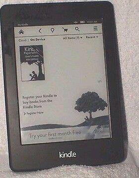 Kindle Paperwhite 2 2013 6 4gb Black Wifi Kindle Paperwhite Kindle Paperwhites
