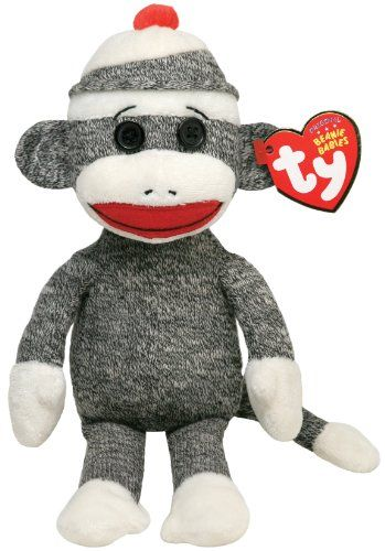 Ty Beanie Baby Socks Grey Monkey     Be sure to check out this awesome 21ee4f059337