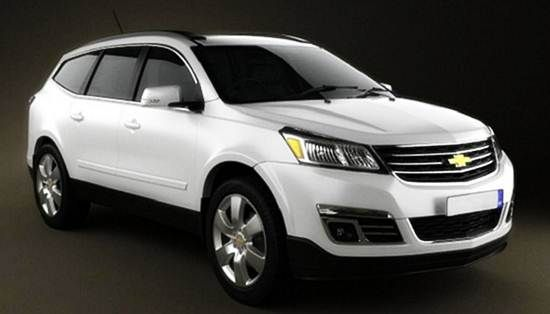 2017 Chevy Traverse Redesign