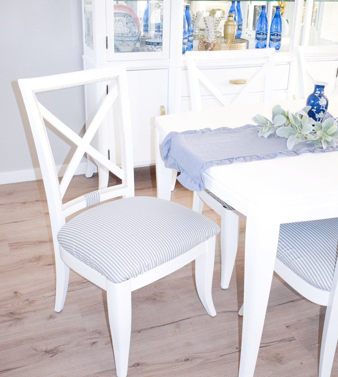 Removable Dining Room Chair Covers An easy DIY that you
