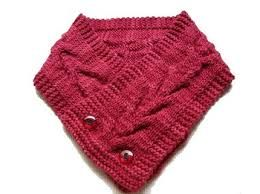 knitted button cowl pattern - Google Search (With images ...