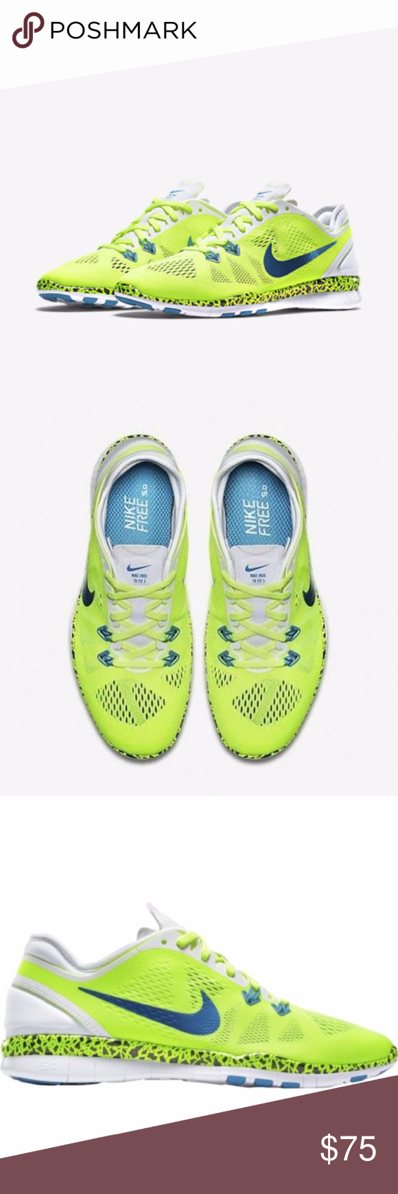 42e0293d725a Nike Free 5.0 TR Fit 5 WC Training Running Shoes This listing is for one  pair