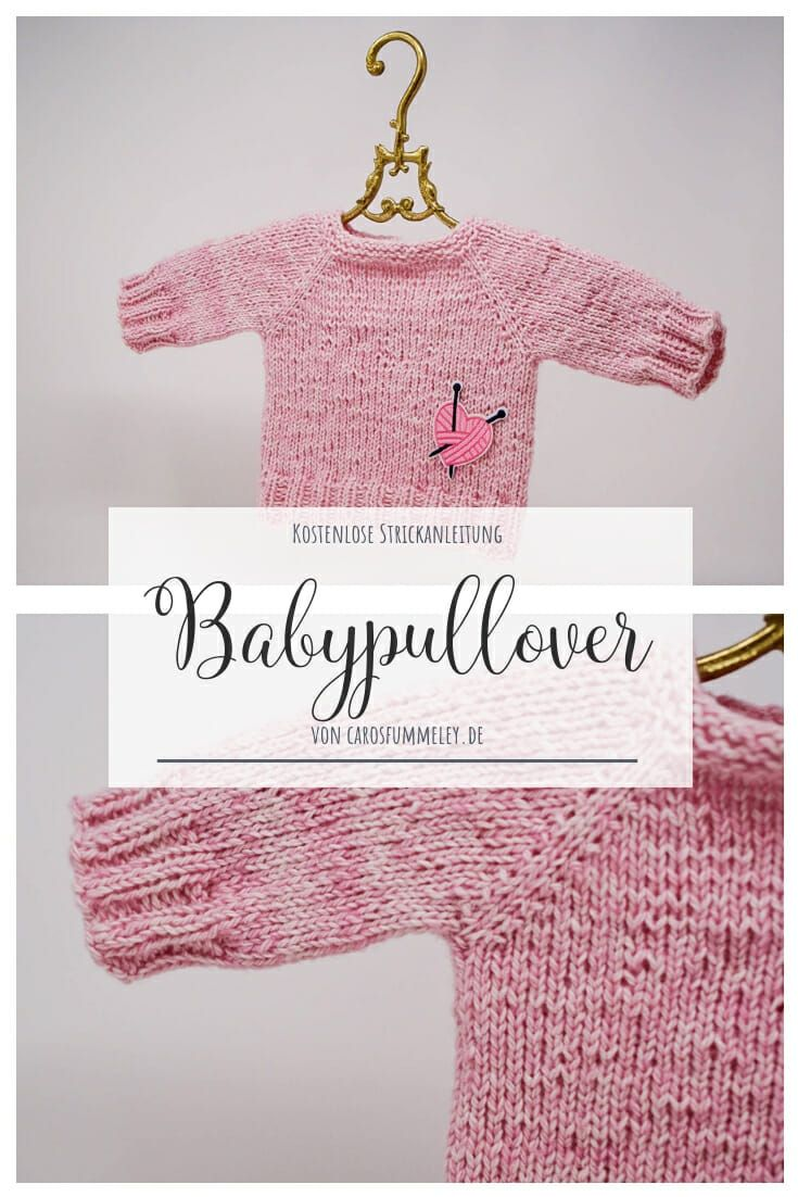 Photo of Anzeige: Babypullover mit Snaply – Free Muster – Caros Fummeley