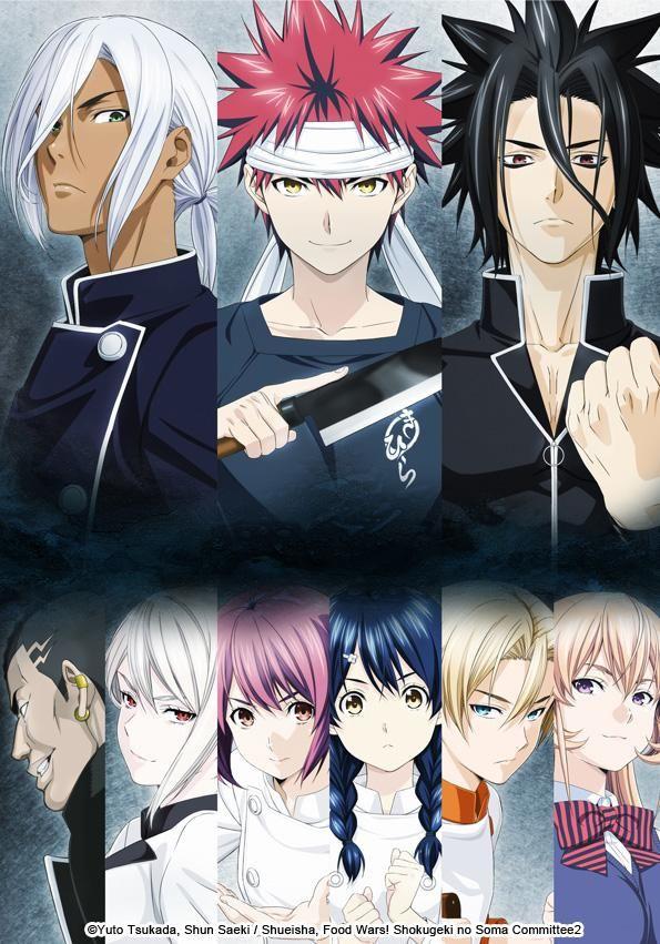 Food Wars, Second Service à regarder sur Anime Digital