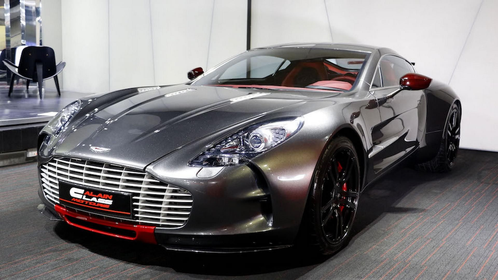 aston martin one-77 q-series, one of the only seven cars ever