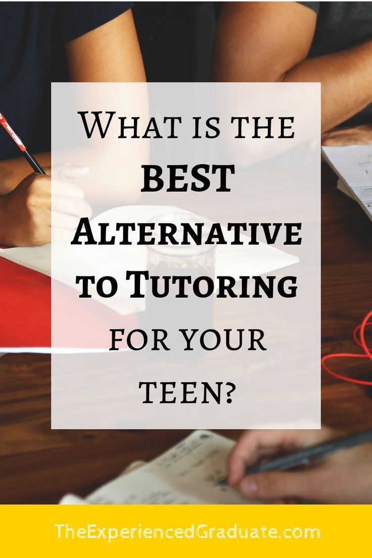 What is the BEST alternative to tutoring? — The